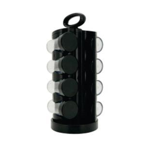 Porta Condimentos 8 Potes Plástico Com Base Giratória Mimo