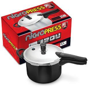 Panela de Pressão Revestimento Teflon Press 4,5 Litros Nigro