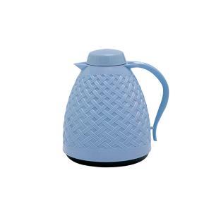 Garrafa Termica Rattan Azul Trancada 400ml