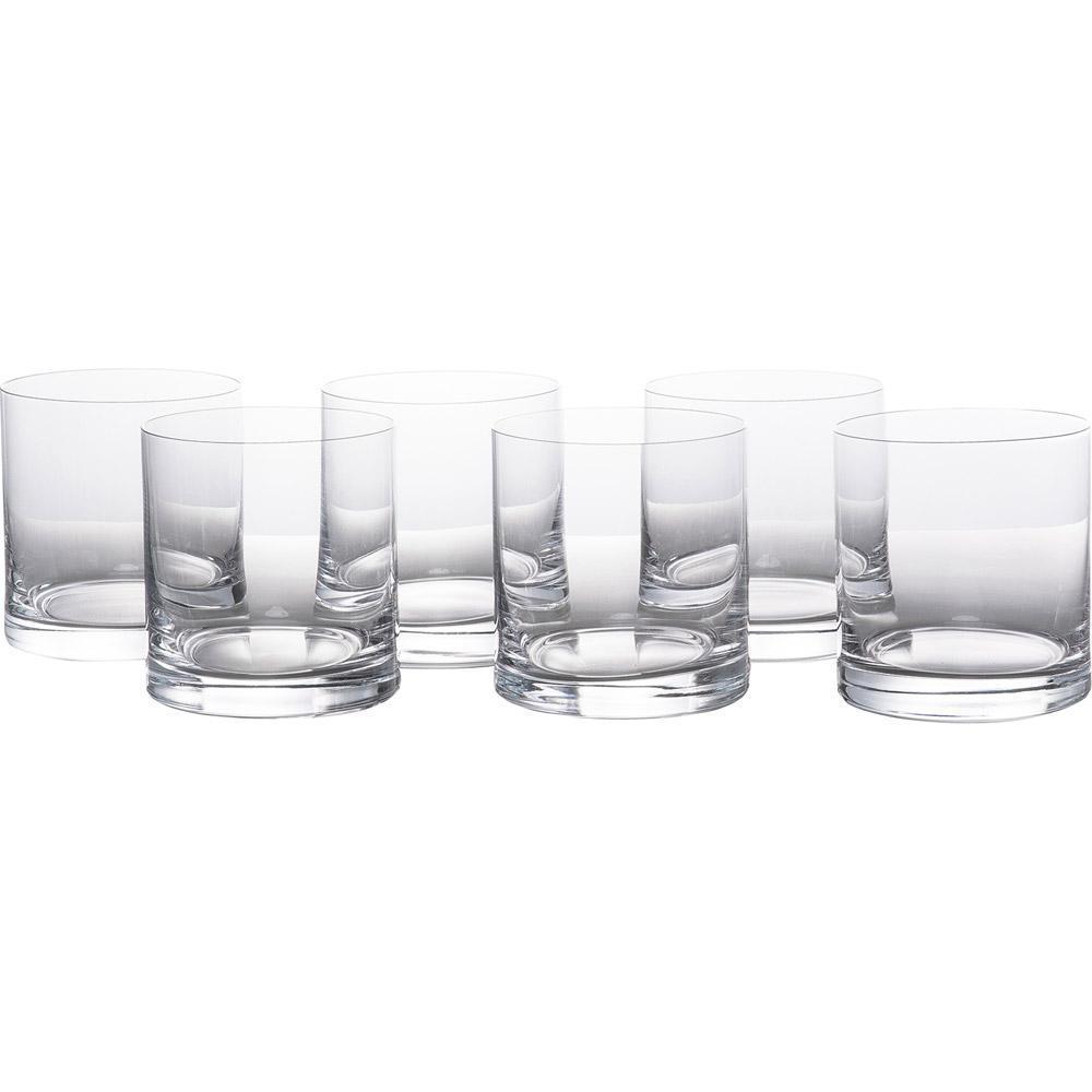 Conjunto com 6 Copos de Cristal para Whisky Barline 410ml Bohemia