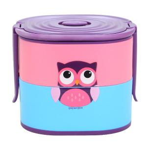 Lunch Box 17x13x14cm Duplas Coruja - Zona Criativa