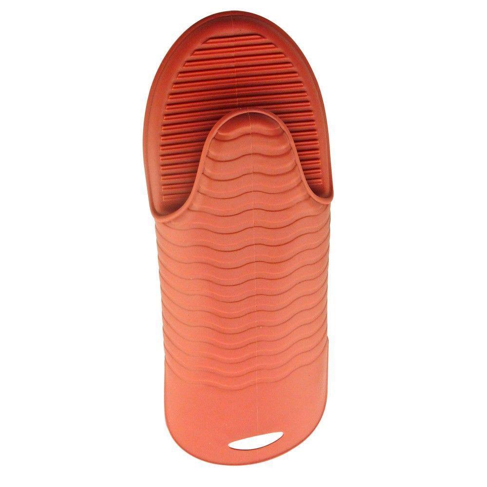 Luva Protetora de Silicone Laranja  - Mimo Style