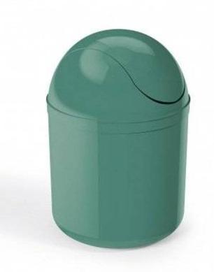 Lixeira Basculante 4L Verde UZ