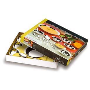 Conjunto Sobremesa Com Pé 14 Peças - Mega Inox