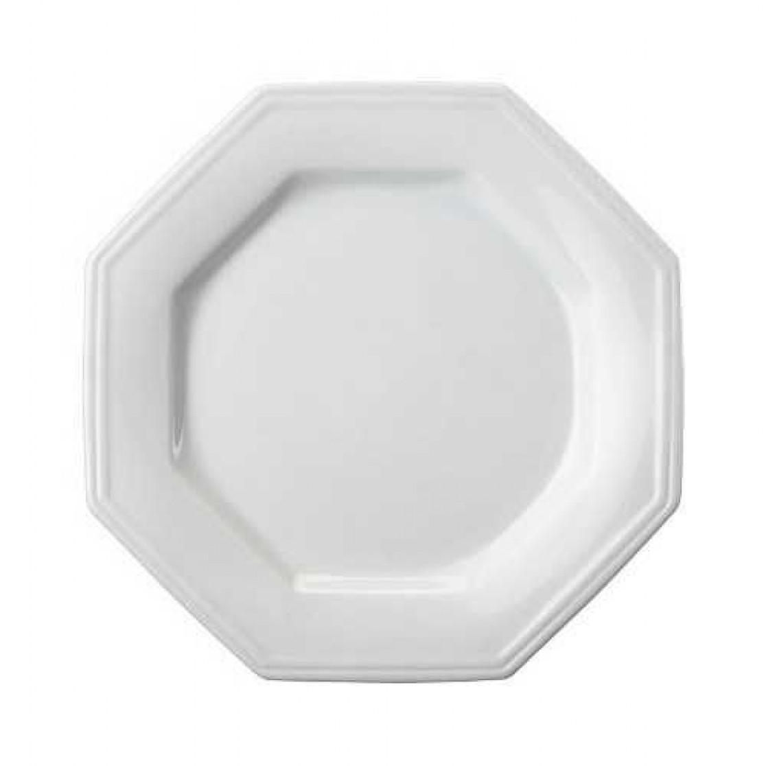 Prato de Sobremesa Prisma em Porcelana - Schmidt