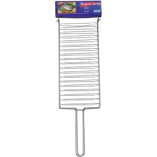 Grelha para Churrasco Parrilla Super Grill 02 Cromado - MOR