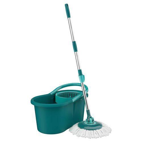 Esfregão Mop Circular E Balde Limpeza Prática - Flash Limp