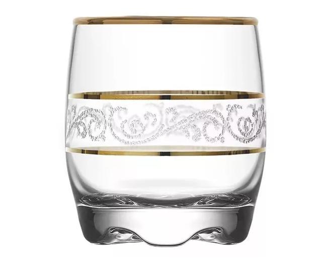 Jogo Com 6 Copos Adora Sultan Whisky 290ml Luxo - Mimo