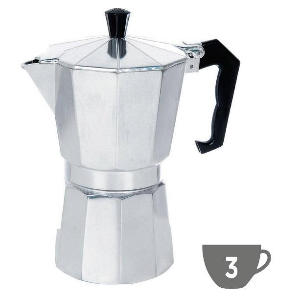 Cafeteira Tipo Italiana Alumínio 3 Xicaras - Express