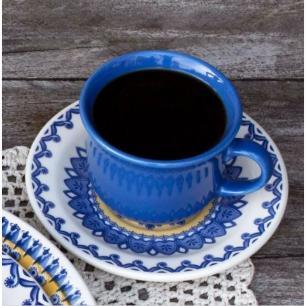 Conjunto com 6 Xícaras de Café com Pires 65 ml La Carreta - Oxford