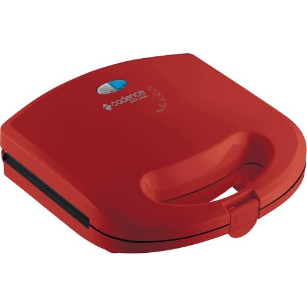 Sanduicheira Minigrill Colors Vermelha - Cadence