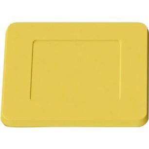 Sousplat Quadrado Amarelo