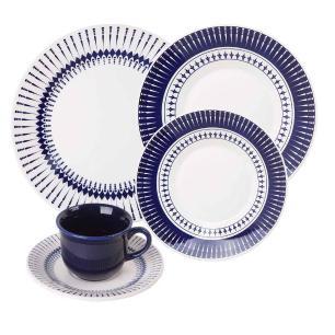Aparelho de Jantar e Chá Biona Cerâmica Colb 20 Peças