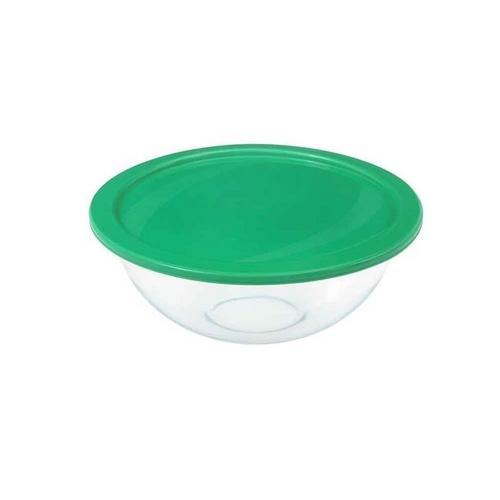 Tigela Plus Com Tampa Plástica 1,5 L Marinex