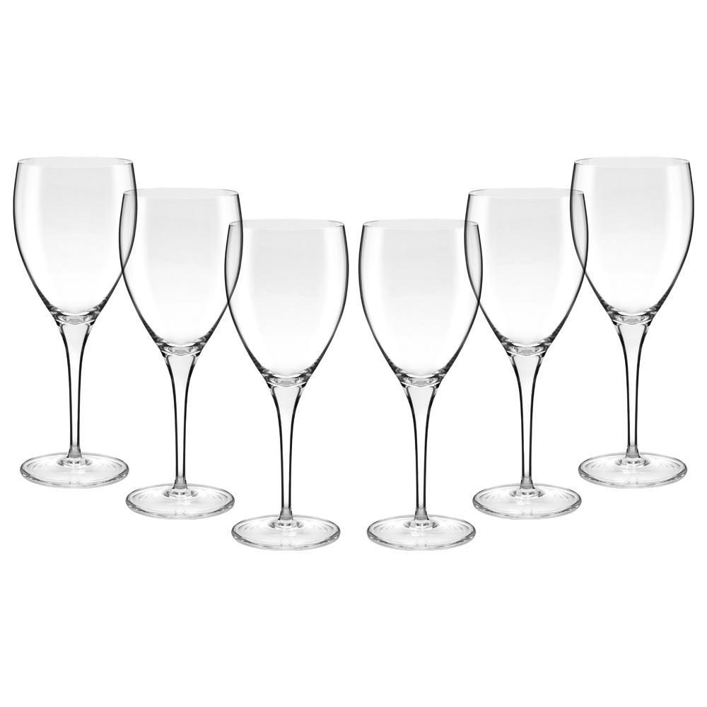 Taça de Cristal p/ Vinho Tinto Crystal Classic 517 380ml  6 Peças - Oxford