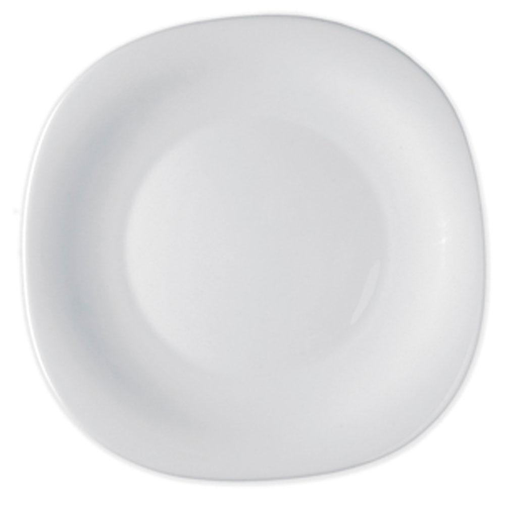 Prato Raso Branco 27cm Parma - Bormioli