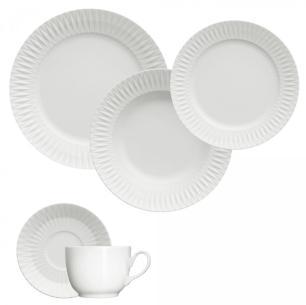 Jogo De Jantar 42 Peças Porcelana Diamante Germer