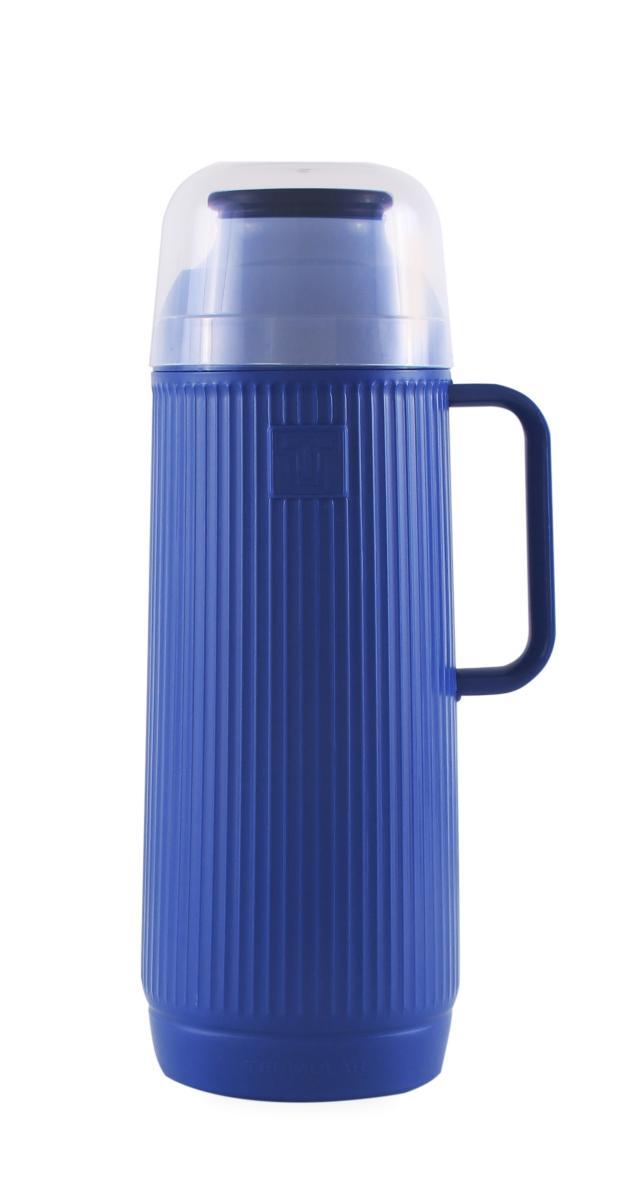 Garrafa Térmica Mundial Azul 1 Litro Termolar