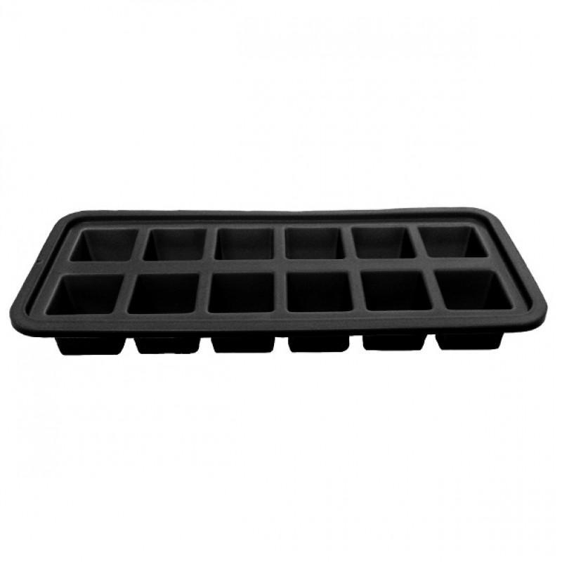 Jogo de Forma para Gelo 3 unidades Quadrada Silicone Mimo