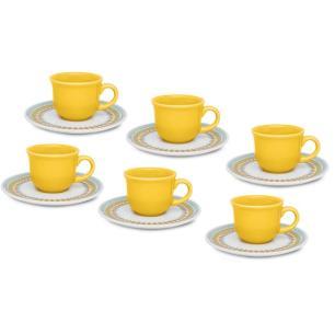 Conjunto de Café Bilro 12 peças - Oxford Daily