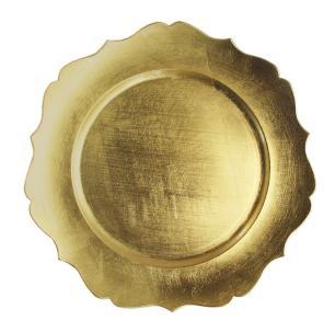 Sousplat Versalhes Dourado - Mimo Style