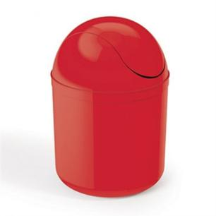 Lixeira Basculante 4L Vermelha UZ