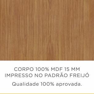 Armario de Cozinha Burguesa 2 Portas 80 cm - Freijo/Grafite - Nesher