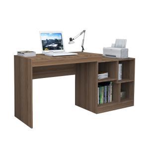 Escrivaninha e Mesa Para Computador Moove - Castanho - Appunto