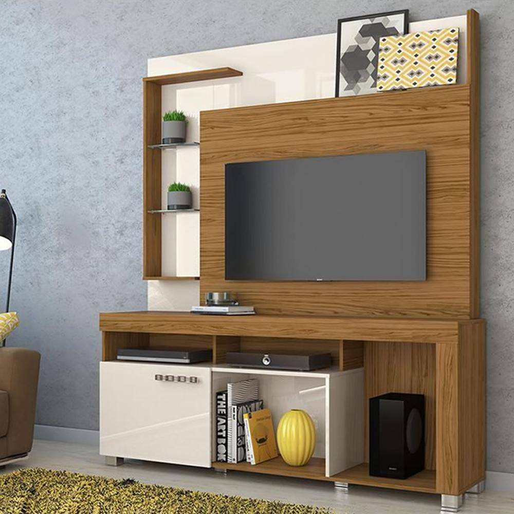 Home Theater Ícaro - Naturale/Off White - Madetec