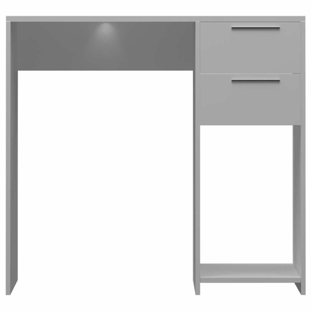 Escrivaninha 2 Gavetas - Branco - Primolar