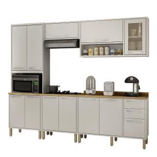Cozinha 5 Peças Paris 04 - Branco - Salleto