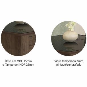 Sala Jantar Rafaela 180cm x 90cm Com 6 Cadeiras Nicole Marrocos/Preto/Pluma - Cimol