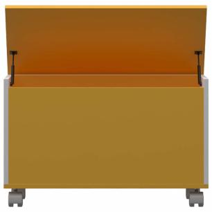 Bau Multiuso M - Amarelo - Primolar