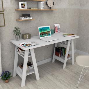 Mesa escrivaninha Self - Branco - Appunto