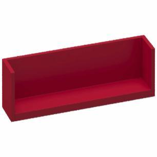 Prateleira Box Tamanho P - Vermelho - Primolar