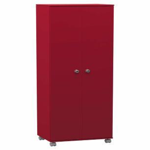 Armario Multiuso 2 Portas - Vermelho - Primolar