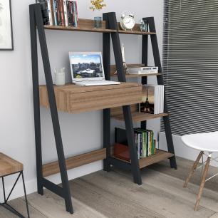 Kit escritório Completo Urban - Castanho/Preto - Appunto