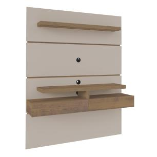 Painel Oxford - Off White/Pinho - Artely