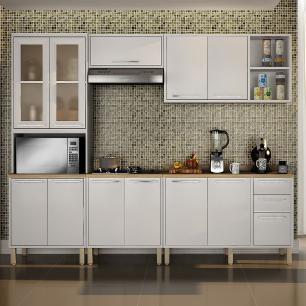Cozinha 5 Peças Paris 02 - Branco - Salleto