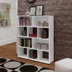 Estante Book - Branco - Artely