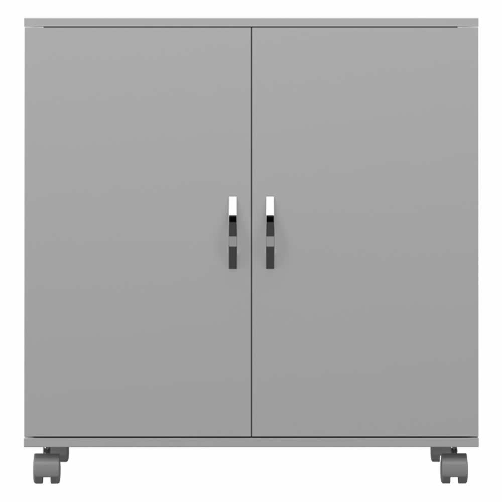 Armario Baixo 2 Portas Com Rodizio - Branco - Primolar