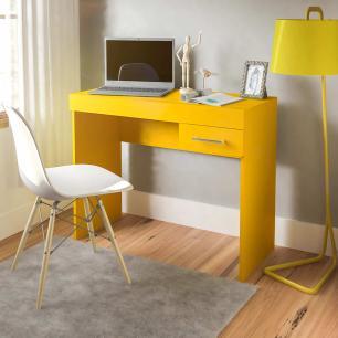 Mesa Para Notebook Cooler - Amarelo - Artely