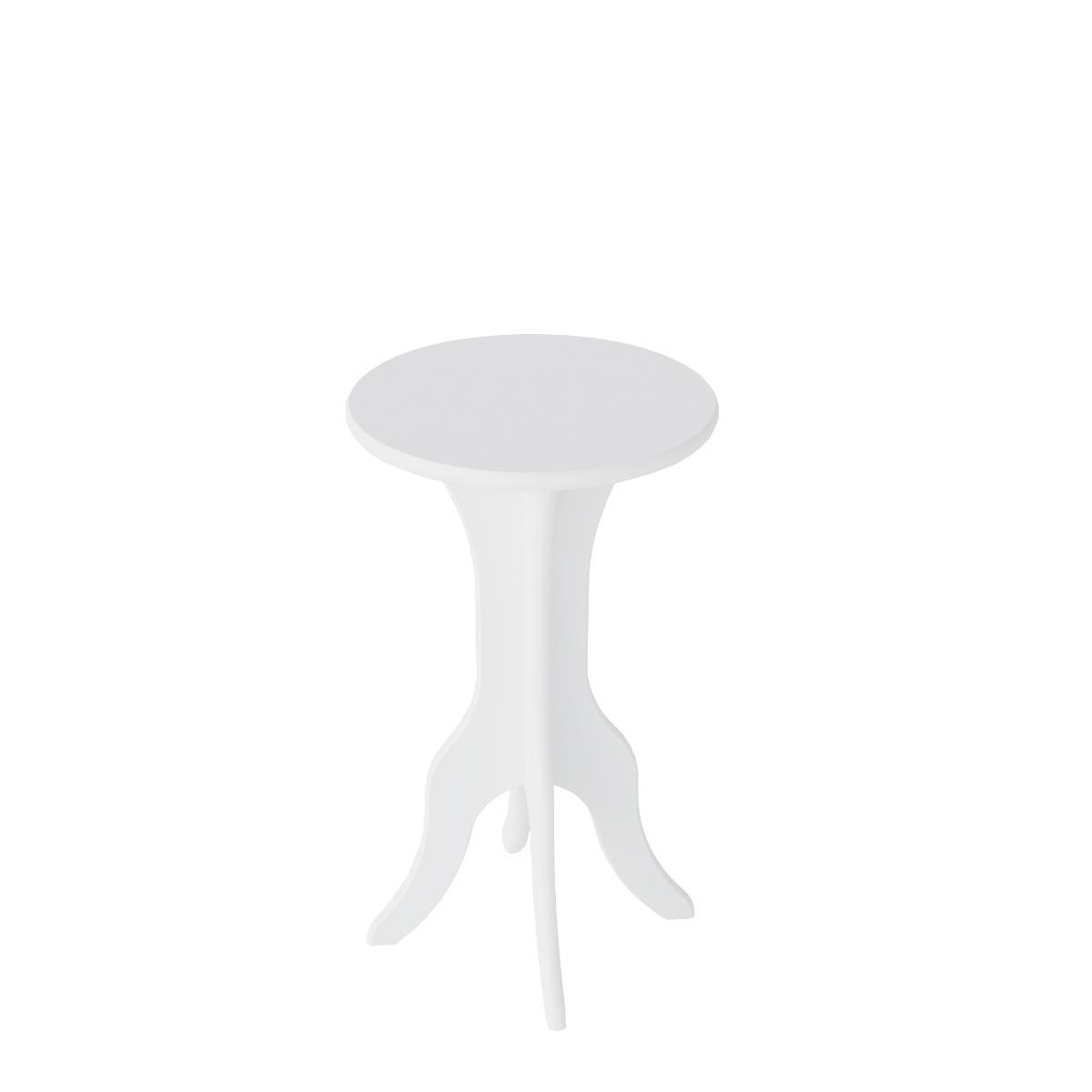 Mesa Apoio Kin - Branco - Artely