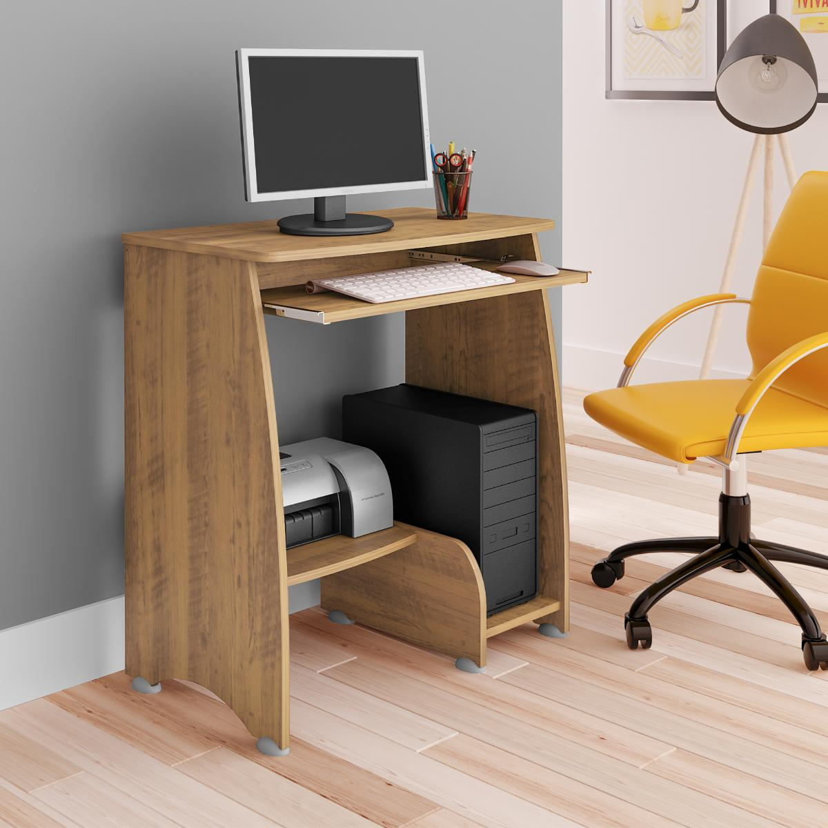 Mesa Para Computador Pixel - Pinho - Artely