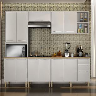 Cozinha 5 Peças Paris 09 - Branco - Salleto