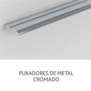 Armário de cozinha Class 1 Porta Basculante 80 cm – Branco/Amadeirado - Nesher