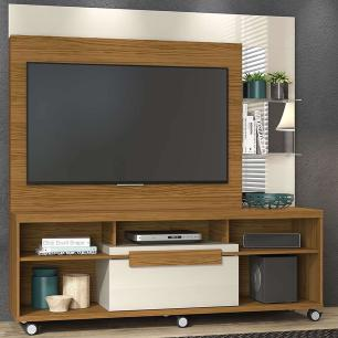 Home Theater Marcos - Naturale/Off White - Madetec