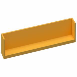 Prateleira Box Tamanho M - Amarelo - Primolar
