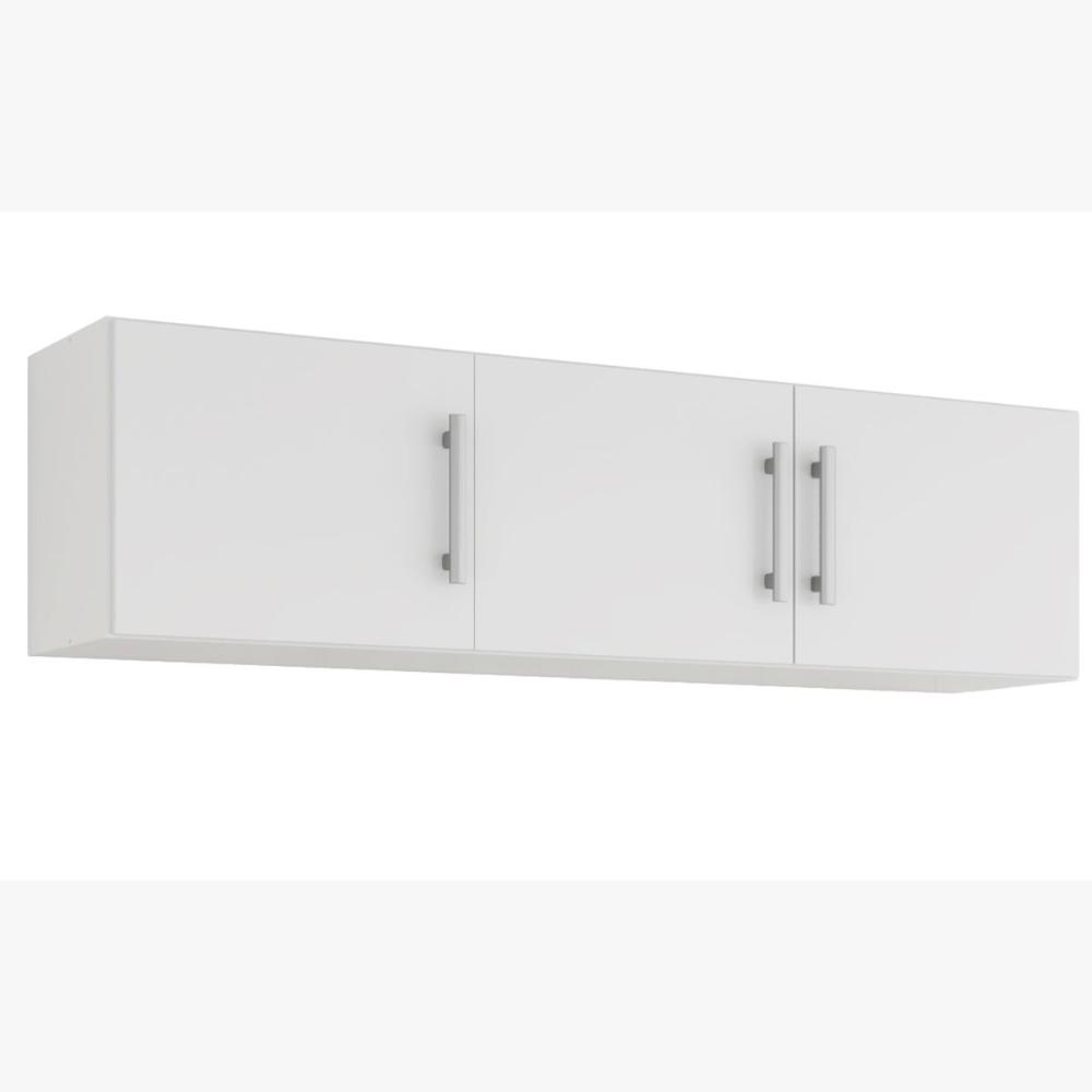Armario De Cozinha Aereo 100% Mdf Flex 154 Cm Branco - Mgm