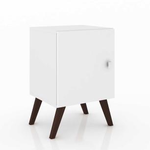 Cubo Retro Com Porta - Branco - Movelbento
